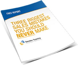 3 Biggest Sales Mistakes booklet